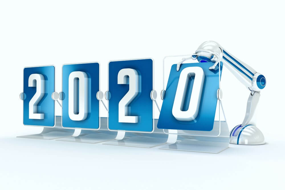 Happy New Year 2020 Working Images