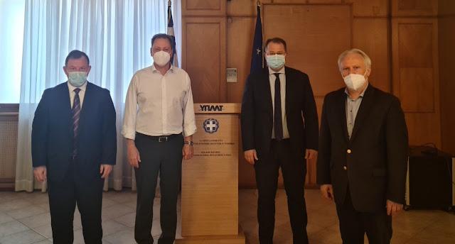 Βασίλης Γιόγιακας: Σύσκεψη με Λιβανό για τις αποζημιώσεις στην «Κλημεντίνη»
