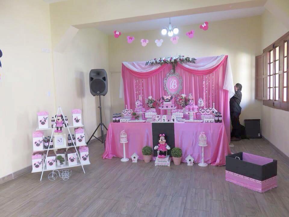 Fiesta de cumplea os primer a ito briana baby shower for Decoracion cumpleanos nina