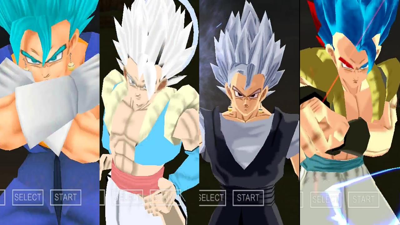 Dragon Ball AF Vegito and Gogeta