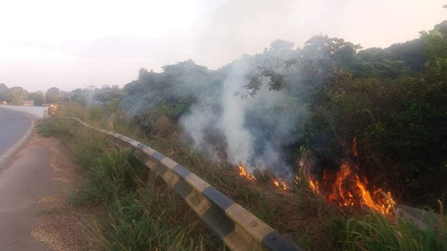 Dois adultos e uma criança morrem carbonizados em acidente de carro na BR 364 em Rondônia