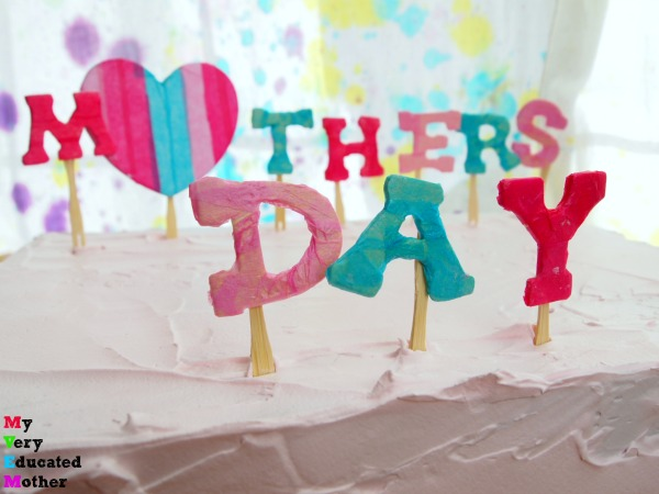 Mother's Day Cake Picks