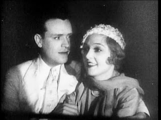 John Harron and Madge Bellamy