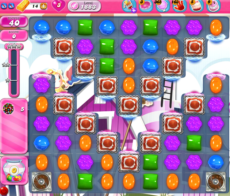 Candy Crush Saga 1883