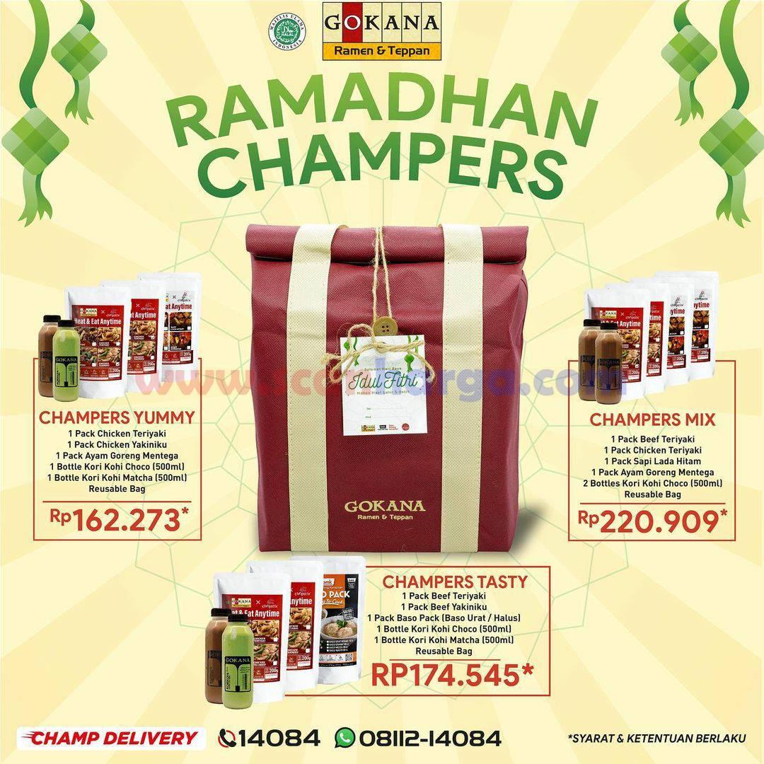 GOKANA Ramen Ramadhan Champers – Paket Hampers Harga mulai Rp 162.273