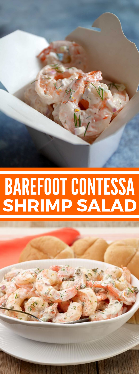 BAREFOOT CONTESSA SHRIMP SALAD #dinner #lunch