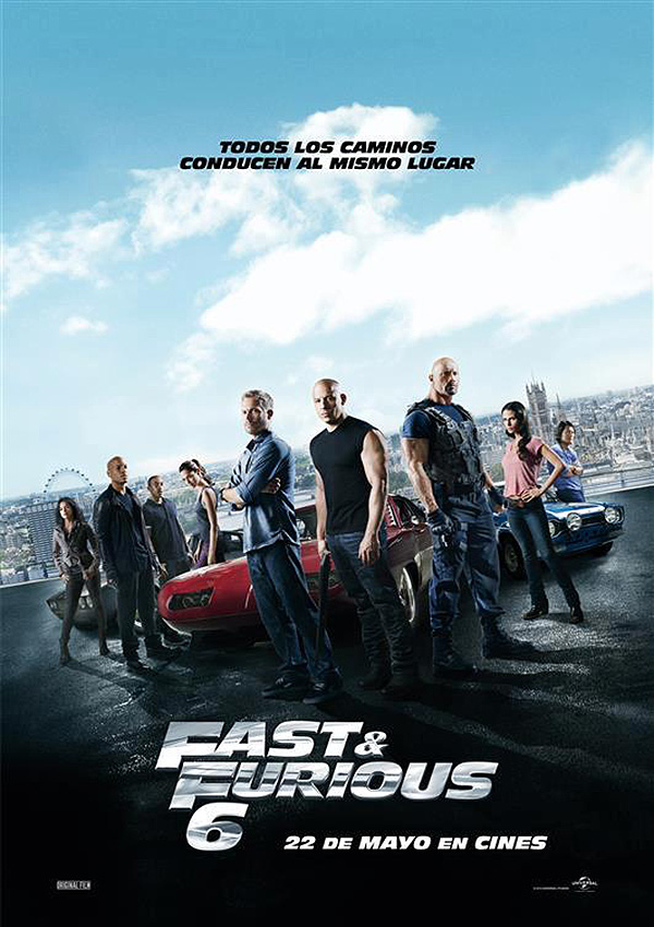 Póster: Fast & Furious 6 (2013)