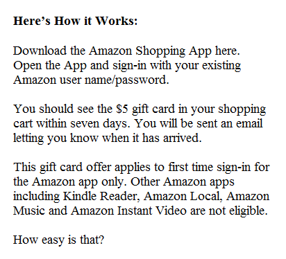 Free Amazon App: www.checklistmag.com