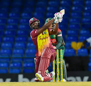 West Indies vs Bangladesh 1st T20I 2018 Highlights