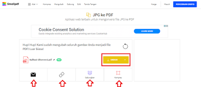 Cara Mengubah Foto Menjadi PDF