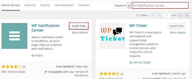 How to Install WP Notification Center In WordPress