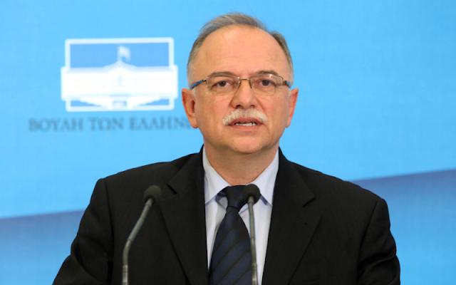 «Για την ευθύνη της χρεοκοπίας, για το έλλειμμα 15,1% του 2009, την ευθύνη την έχουν 100% η κυβέρνηση της Νέας Δημοκρατίας, με πρωθυπουργό τον Κώστα Καραμανλή και οι προηγούμενες κυβερνήσεις του ΠΑΣΟΚ, όχι η ΕΛΣΤΑΤ» δήλωσε ο αντιπρόεδρος του Ευρωπαϊκού Κοινοβουλίου και επικεφαλής της Ευρωομάδας του ΣΥΡΙΖΑ, Δημήτρης Παπαδημούλης, στον ραδιοφωνικό σταθμό του Αθηναϊκού και Μακεδονικού Πρακτορείου Ειδήσεων, «Πρακτορείο FM 104,9».