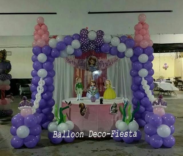 Princesinha Sofia mesa decorada