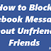 How to Block Facebook Messages Without Unfriending Friends