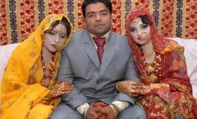 इस भाई ने अपनी ही बहनों से की शादी।