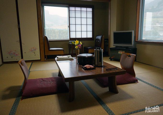 Chambre japonaise, Hana Ryokan Iwatoya