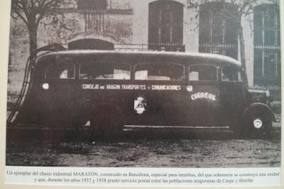 Omnibus Binefar Caspe