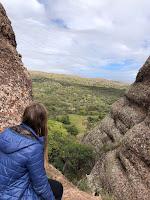 vistas desde las cuevas de ongamira