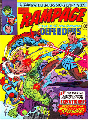 Rampage #5, the Defenders vs the Executioner