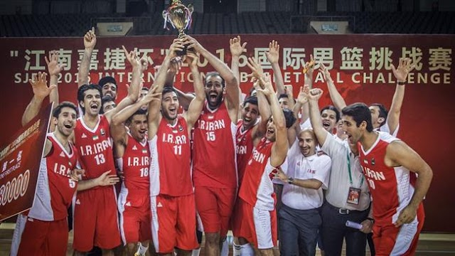 Iran won 2016 International Basketball Challenge champion