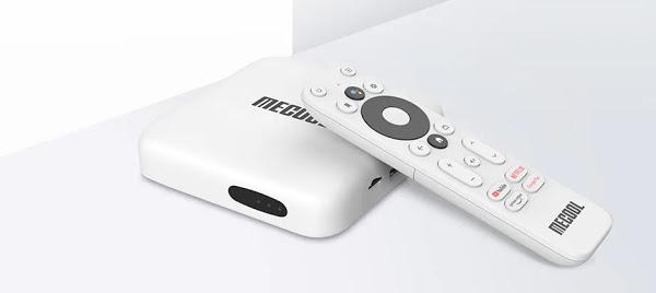 MECOOL KM2 - Box certificada para Netflix a grande preço em armazém Espanhol