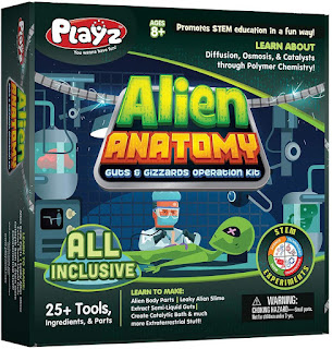 Playz Alien Anatomy Guts & Gizzards Operation Science Kit, toys for 2019 christmas