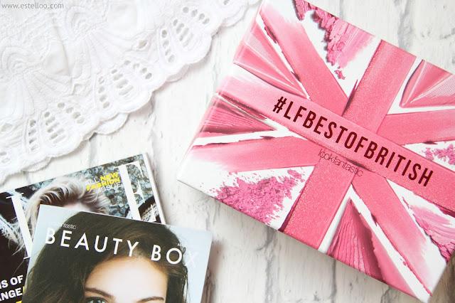 Look Fantastic Box, août 2016 - Best of british !