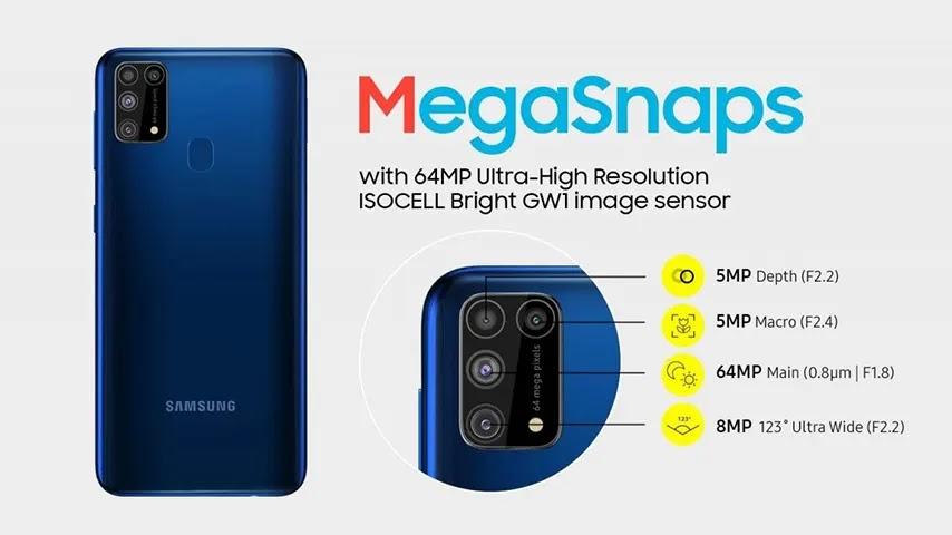 Spesifikasi Samsung Galaxy M31 Prime