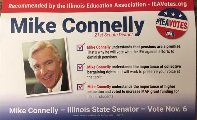 Glen Brown Why I Do Not Trust The Illinois Education Association S