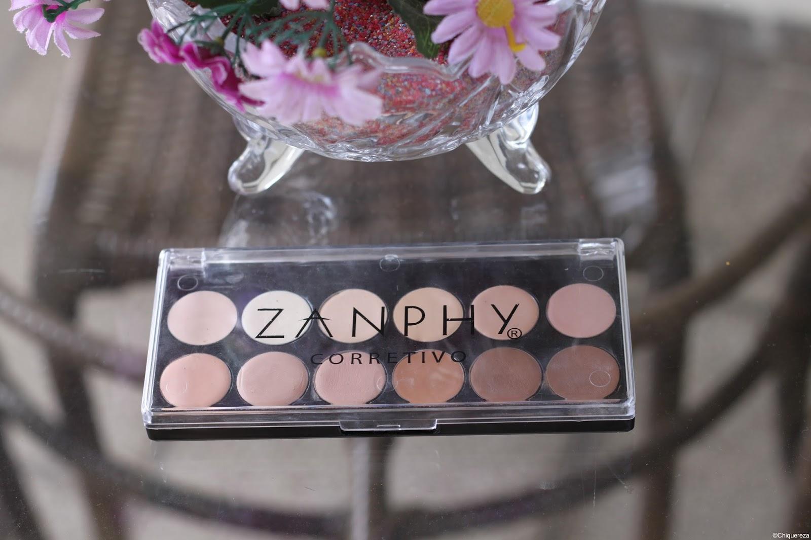 paleta de corretivos zanphy