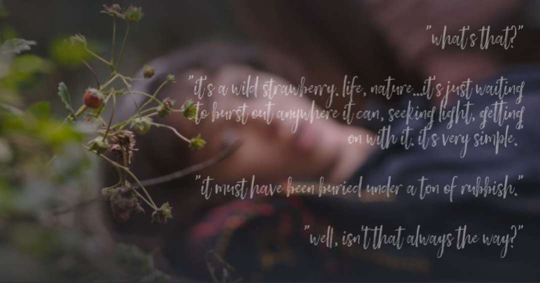 Wild Strawberry Quote This Beautiful Fantastic