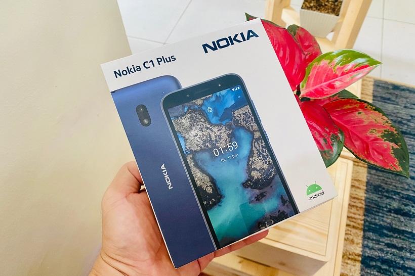 Nokia C1 Plus Review: Unboxing