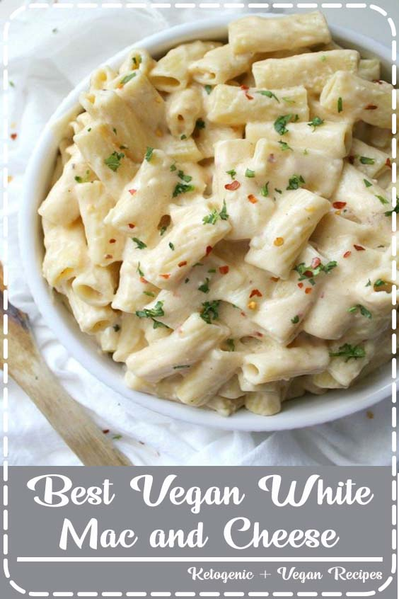 this is hands down the Best Vegan White Mac and Cheese  Best Vegan White Mac and Cheese