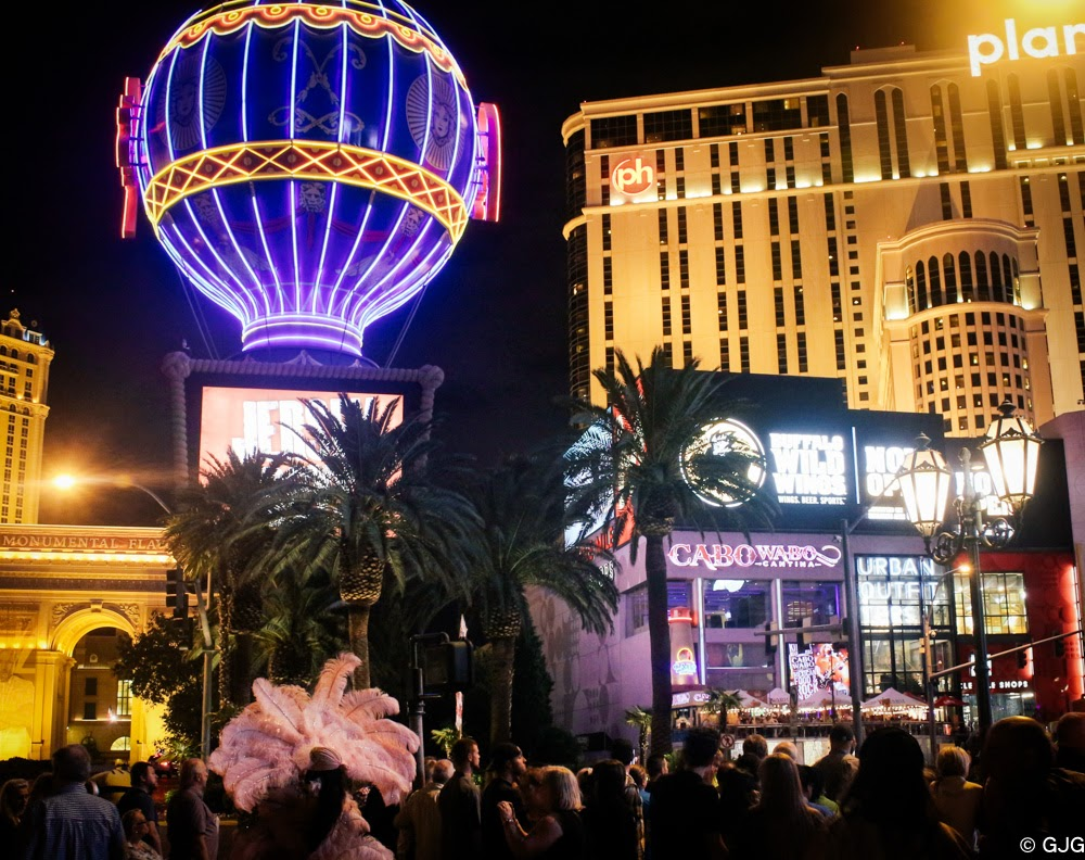 The Las Vegas Strip travel diary