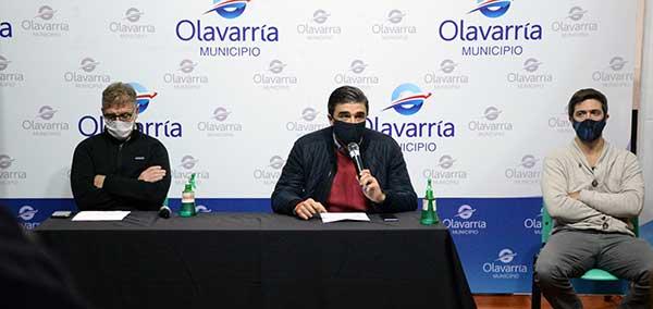 El intendente de Olavarría confirmó la primera muerte por coronavirus en el distrito.