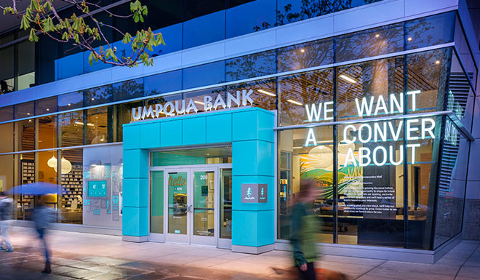 Une agence Umpqua Bank