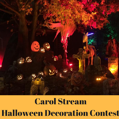 Carol Stream Halloween Decoration Contest 2017