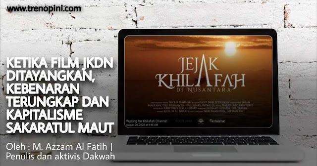 Film jejak Khilafah Di Nusantara yang tayang perdana pada hari Kamis tanggal 20 Agustus 2020 bertepatan dengan 1 Muharram 1441 H. Film dokumenter yang membuka tabir sejarah masuknya Islam di bumi Nusantara.