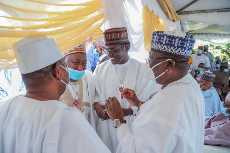 Photos Of Sanusi, Lawan, Others Gathered Together As El-Rufai's Son Weds Kazaure's Daughter #Arewapublisize