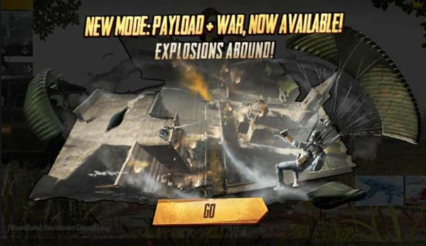 Play War Mode in Payload style