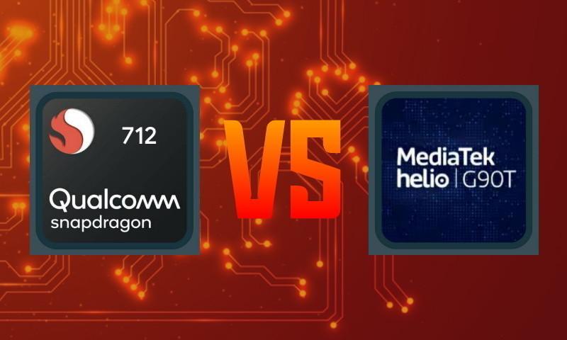 Perbandingan Snapdragon 712 vs Helio G90T