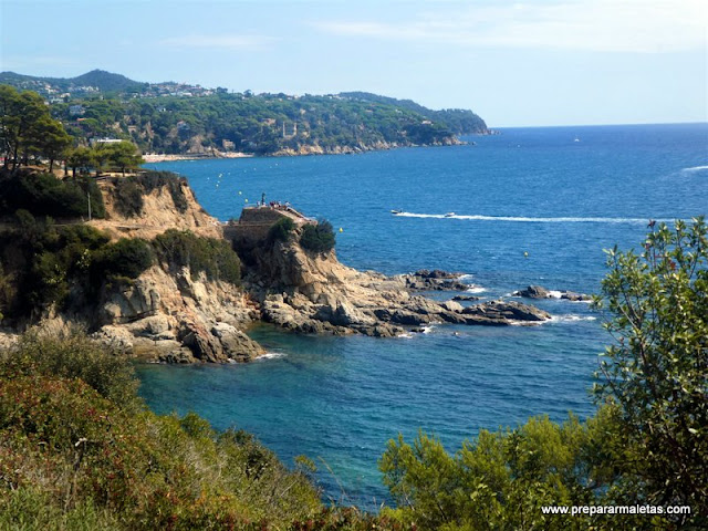 Hacer Camino de Ronda Lloret de Mar Girona