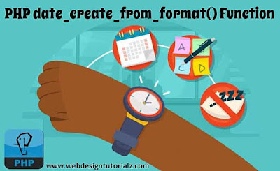 PHP date_create_from_format() Function
