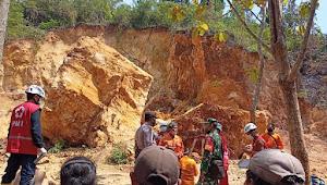 3 Orang Tewas Tertimpa Longsoran Batu di Galian C Desa Katekan, Brati