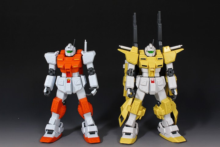 Gundam Guy Hg 1 144 Powered Gm Cardigan Review By Hobby No Toriko