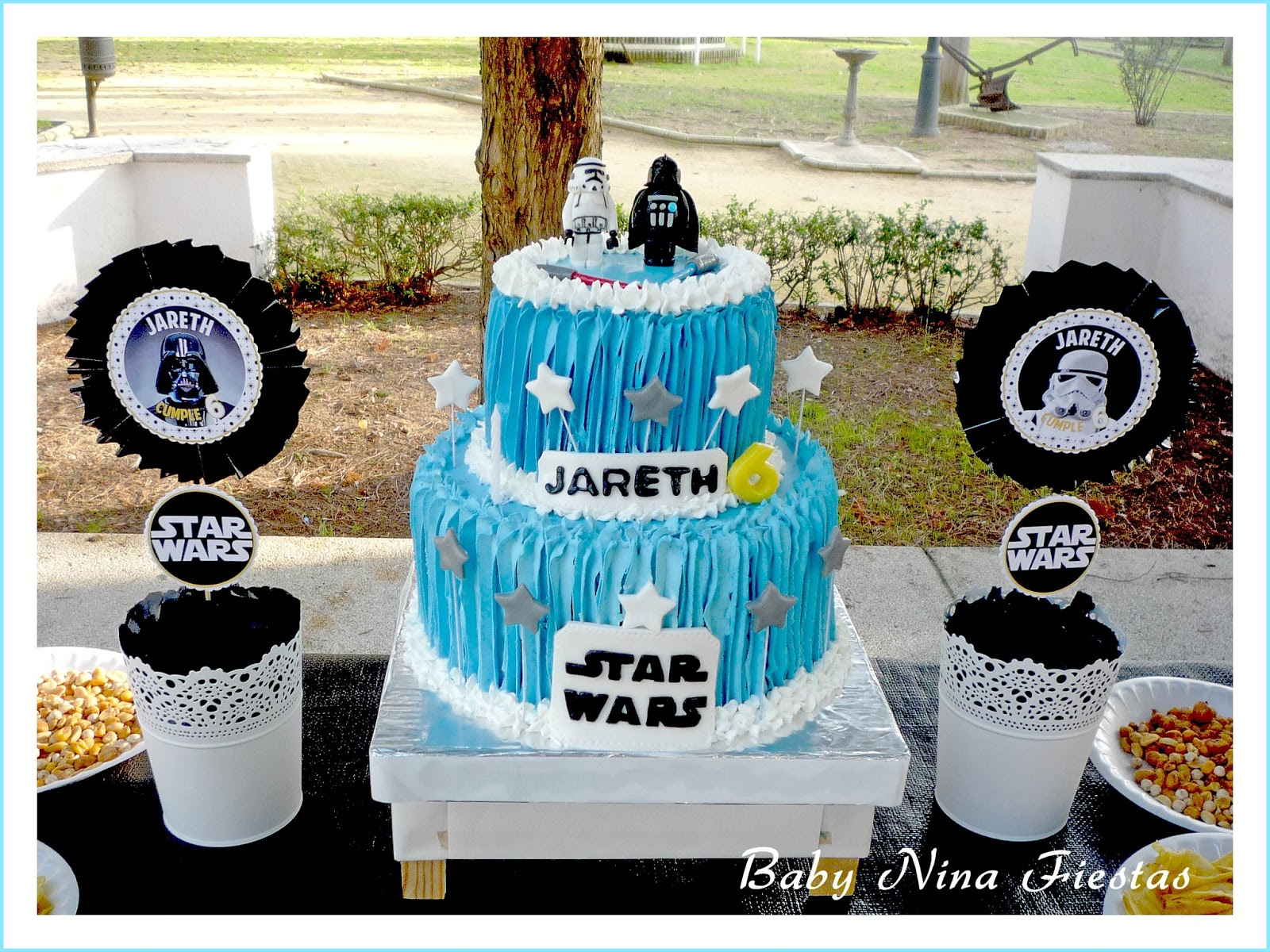 Baby nina fiestas cumple star wars para jareth for Decoracion star wars