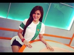 Foto Presenter Olahraga Cantik Putri Viola