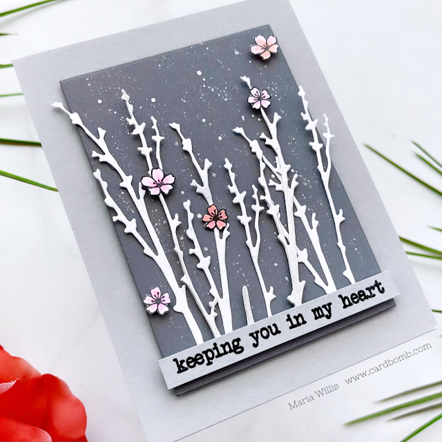 Cardbomb, Maria Willis, Tonic Studios, Stamp Club, Compassion and Poppies, stamps, stamping, ink, paper, paper crafting, cards, cardmaking, art color, diy, watercolor, flowers