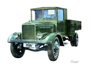 ЯГ-4 выпускался с 1934 по 1936 год. Грузоподъёмность 5 тонн.