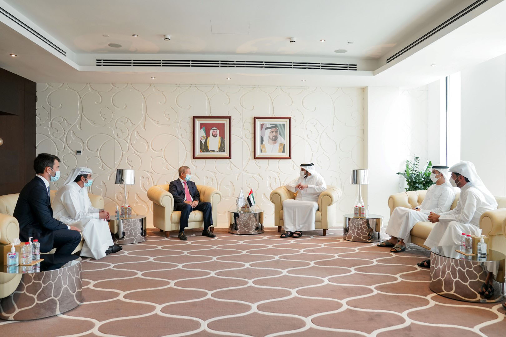 Sheikh Ahmed meets VP of International Olympic Committee